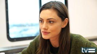 Phoebe Tonkin Interview - Stalker (CBS)