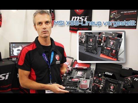 Gamescom 2014: MSI X99 SLI PLUS & MSI X99S Gaming 9 AC [german/HD]