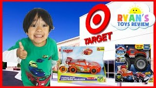 Toys Hunt Family Fun Shopping Trip Target Thomas and Friends Disney Cars Hot Wheels Finding Dory