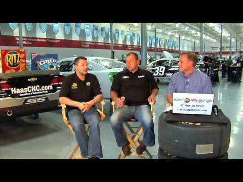 Live Chat w/ Nascar Drivers Tony Stewart and Ryan Newman