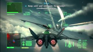 Ace Combat 6: Fires of Liberation Mission 9 (Heavy Command Cruiser)
