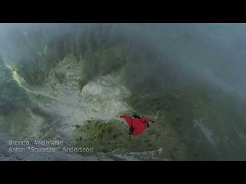 Cracks and corkscrews -- Wingsuit Proximity Flying