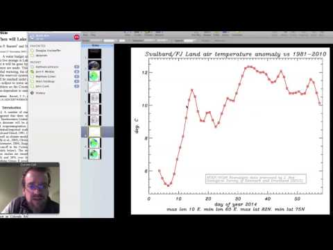 Notes from the Arctic: Dr. Jason Box on Winter 2014