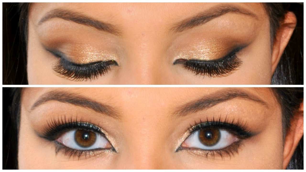 Dramatic Bridal Makeup Brown Eyes : Wedding Makeup For Smokey Brown Eyes images