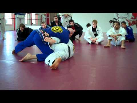 Escaping Side Control When Underhook In Image 1