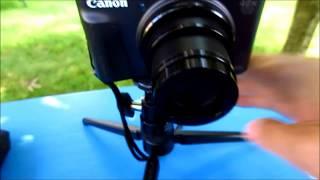 01. Canon Powershot SX740 SX730 Manual settings
