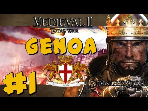 Stainless Steel - M2TW: Genoa Part 1 ~ Republic Rising!
