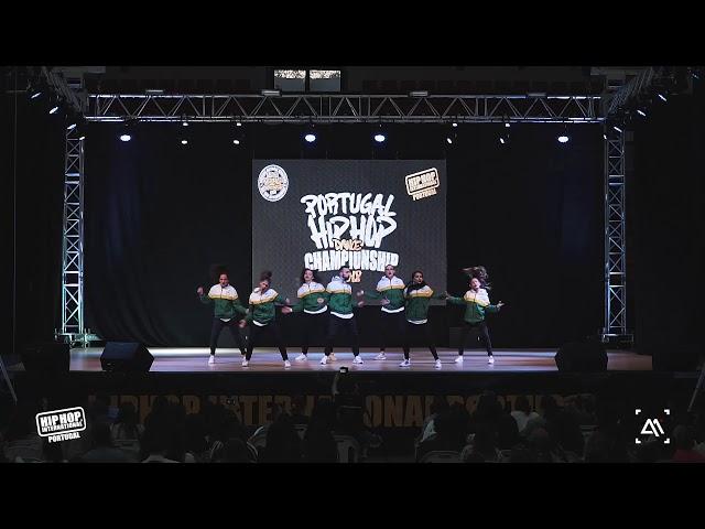 FEEL IT CREW | MegaCrew Final @ Hip Hop International Portugal 2018