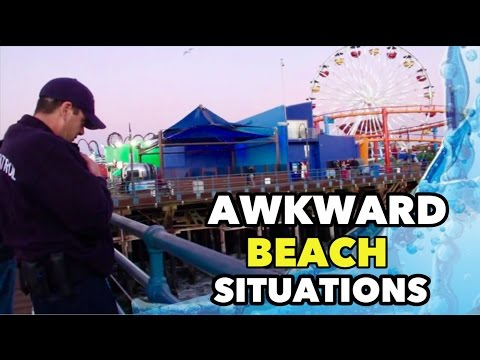 Awkward Beach Situations