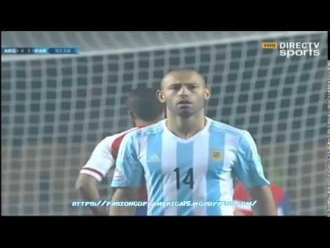 Argentina 6-1 Paraguay (Caracol Radio) - Semifinal Copa América 2015