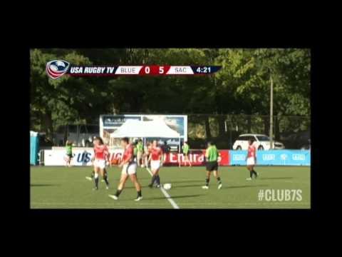 2014 Club 7s - Bluebonnets Rugby vs. Sacramento Amazons