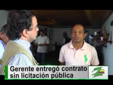 Por contratación, demandan penalmente al gerente de Emcali Óscar Pardo