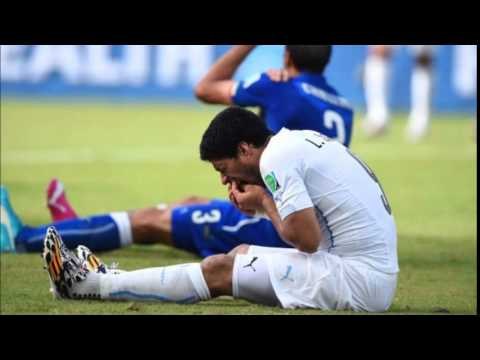 Luis Suarez Banned 4 months & 9 FIFA Matches For Biting