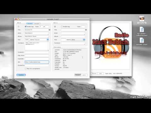 how to add artwork to mp3 file mac os x