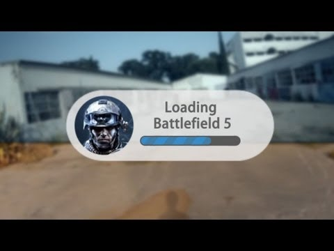 Como seria o battlefield 5 no óculos do Google