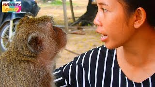 What Sok talking to her & need from her? | Sok and her are best relationship | Monkey Daily 1538