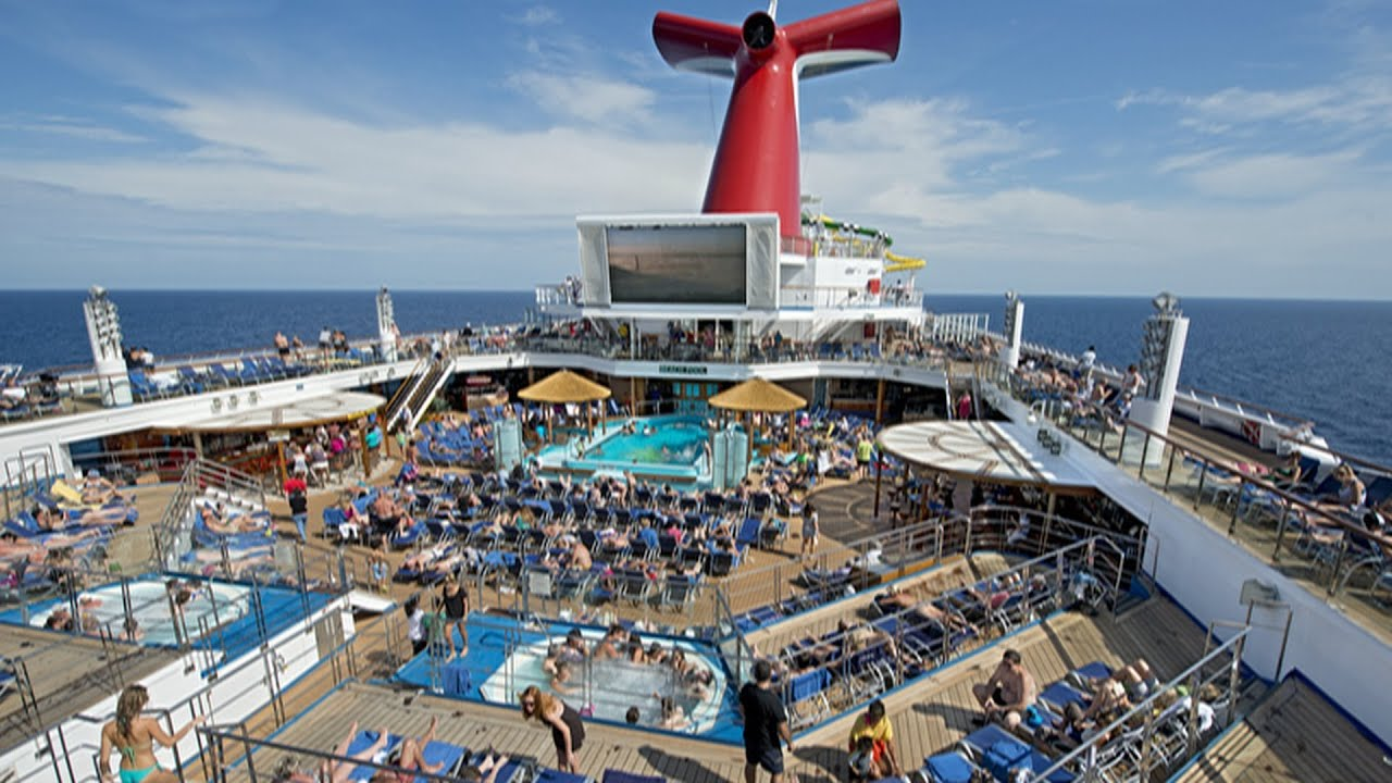 Carnival Sunshine Overview Part 2 Serenity Retreat Food