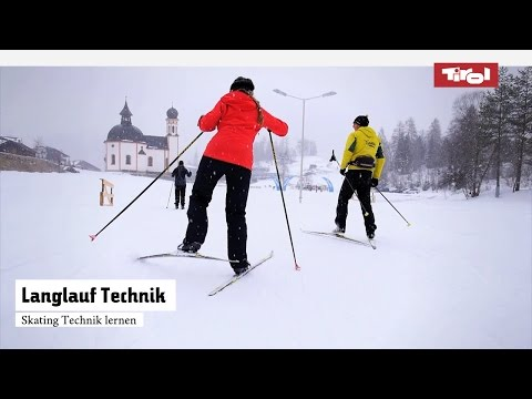 Langlauf Technik – Langlauf Skating Lernen