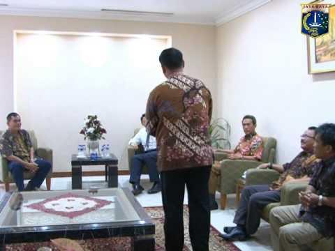 25 Apr 2014 Wagub Basuki T. Purnama Menerima Forum Komunikasi Karyawan PAM JAYA