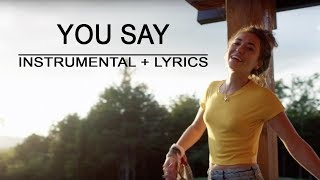 Download Lagu You Say - Lauren Daigle | Piano Instrumental | Lyrics | by Betacustic Gratis STAFABAND
