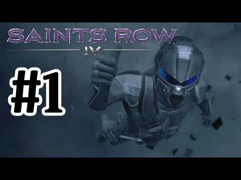 Saints Row 4 - Walkthrough Part 1 - With Commentary - 1080P - Lets Play - Playthrough