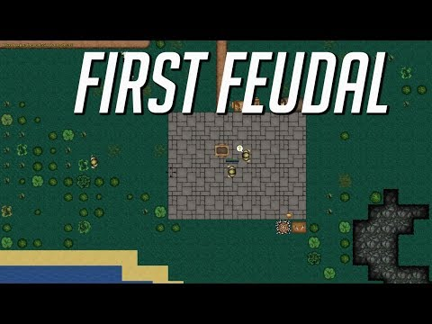 First feudal -  Rimworld meets sim city  - Let's Play First feudal gameplay