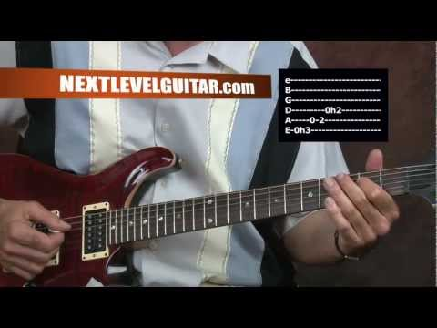 0 Electric Guitar lesson The Doors inspired cool bluesy rhythms Roadhouse Blues style song