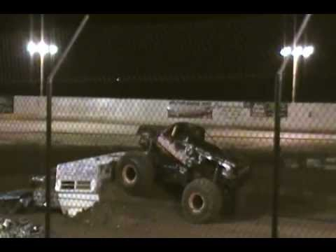 """OUTLAW MONSTER TRUCKS""    SHOW LOW AZ 6-9-2012"