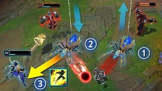 Calculating The PERFECT Escape - 200 IQ CHALLENGER OUTPLAYS - League of Legends