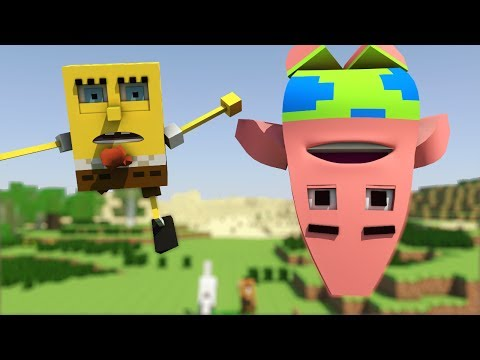 spongebob In Minecraft 2 - Animation video