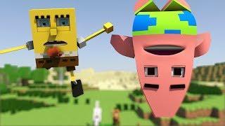 """Spongebob in Minecraft 2"" - Animation"