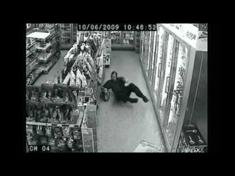 Drunkest Guy Ever: Silent Film (Larry goes to the market)