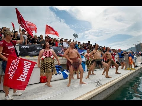 Volvo Ocean Race - Sanya Haitang Bay In-Port Race Departure Ceremony 2011-12