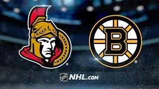 Big 2nd period helps pace Bruins past Senators, 5-2