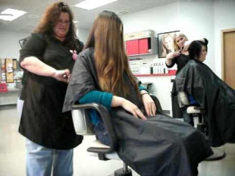Ladies Long Hair Cutting Vedio Free MP4 Video Download