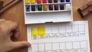 Winsor & Newton Cotman watercolours review