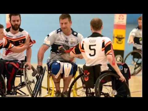 Leeds Rhinos Wheelchair Rugby League jan 2016