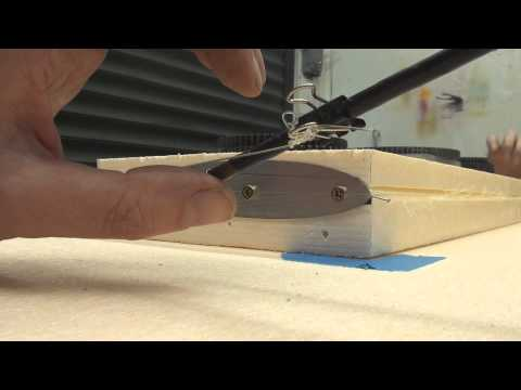 cutting foam wings