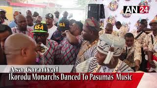 Pasuma Thrills Ayangburen Of Ikorodu, Onigbogbo, Other Kings At Asa Carnival