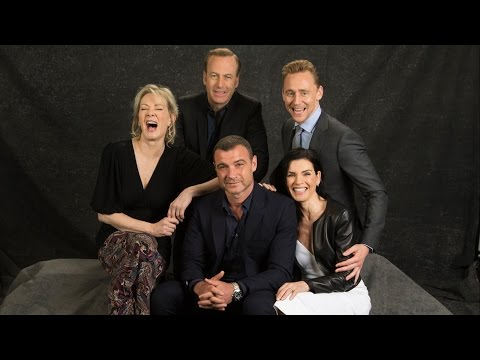 Emmy Roundtable  - Tom Hiddleston, Julianna Margulies, Bob Odenkirk,  Liev Schreiber and Jean Smart