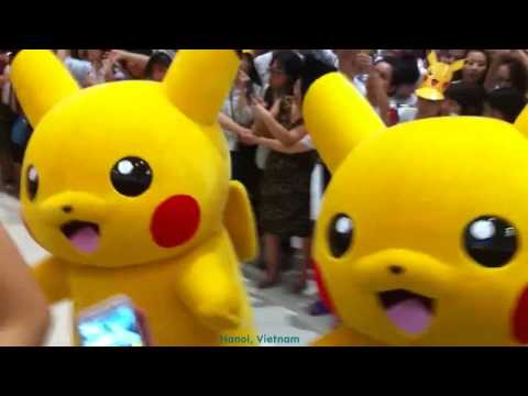 [151121] PIKACHU at AEON MALL - HANOI, VIETNAM