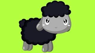Baa Baa Black Sheep - Nursery Rhyme with lyrics
