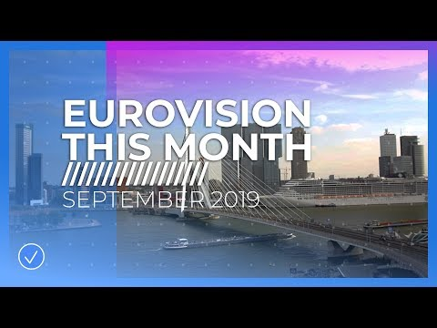 EUROVISION THIS MONTH: SEPTEMBER 2019