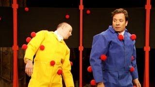 Sticky Balls with Channing Tatum (Late Night with Jimmy Fallon)