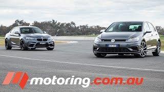 Volkswagen Golf R v BMW M2 | motoring.com.au