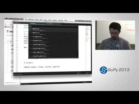 Version Control and Unit Testing for Scientific Software, SciPy2013 Tutorial, Pa