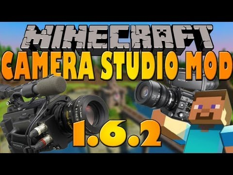 How to make Timelapse in Minecraft [1.6.2] Camera Studio Mod