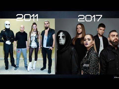 THE HARDKISS - КАК МЕНЯЛИСЬ ПЕСНИ 2011-2017