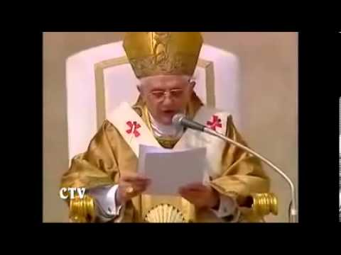 The Inaugural Mass of Pope Benedict XVI 2005