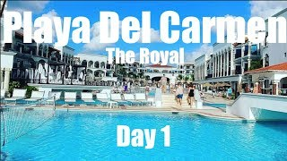 Play Del Carmen The Royal Vlog Day 1 December 2017